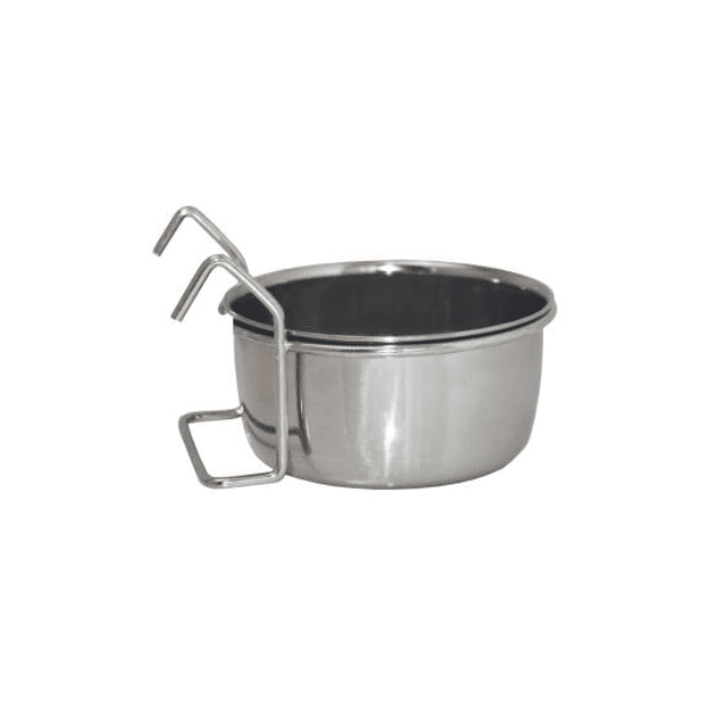 CLASSIC Pet Products Steel Hook-On Coop Cup 300 ml
