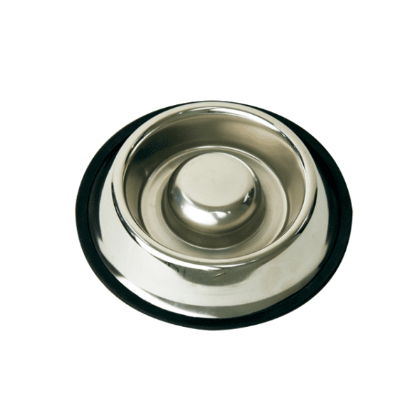Stainless steel slow feeder