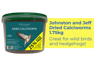 We're now stocking dried calciworms