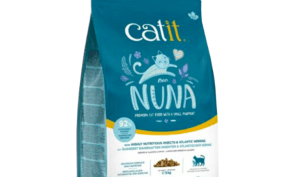 Catit Nuna Cat Food Highly Nutritious Insects and Herring 5kg